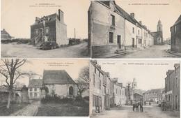 4 CPA:SAINT COULOMB (35) FORT DUGUESCLIN,LA GUIMORAIS CHÂTEAU DU LUPIN,CALVAIRE ROUTES DE CANCAL, ROUTE DE SAINT MALO - Saint-Coulomb