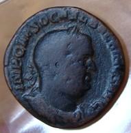 BALBIN Sesterce + 238 Rome La Providence - 5. L'Anarchie Militaire (235 à 284)