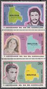 CUBA 1972, CHE GUEVARA, DAY Of GUERRILLA STRUGGLE In BOLIVIA, COMPLETE MNH SET, GOOD QUALITY, *** - Nuovi