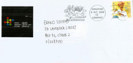 Singapore Bicentennial 2019, On Letter From Indian Heritage Centre. Singapore - Singapore (1959-...)