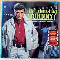 LP 25 Cm JOHNNY HALLYDAY - PHILIPS 76245 - MA GUITARE + 10 DU FILM D'OU VIENS TU JOHNNY - 1963 - LECTURE EXC++ - - Rock
