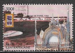 Central African Republic 1996. Scott #1114 (U) 1900 Summer Olympics, Paris Stadium - Central African Republic