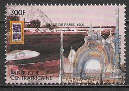 Central African Republic 1996. Scott #1114 (U) 1900 Summer Olympics, Paris Stadium - Repubblica Centroafricana