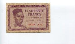 Mali - 50 Francs - 1960 - Mali