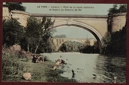 Lavaur Lavandières Rivière Lavandière Laveuse Blanchisseuse Pont Et Viaduc  * Tarn 81500 * Arrondissement De Castres - Lavaur
