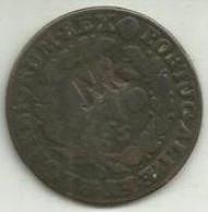 Carimbo MR D. José I Sobre X Réis 1765 Moçambique - Mozambique