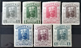 ALBANIA 1914 - MLH - Mi IIa-IIg - Complete Set! - Unissued - Prinz Wied - Albanien