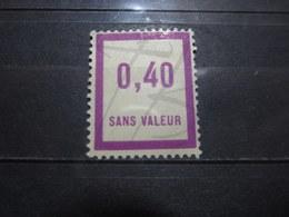 VEND BEAU TIMBRE FICTIF DE FRANCE N° F32 , XX !!! - Fictifs