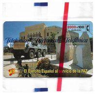 Spain - Telefónica - El Ejercito Espanol En Bosnia - CP-218 - 2100PTA, 07.2001, 6.500ex, NSB - España