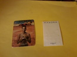 2x Cartes Differentes Mahora - Cartes Parfumées