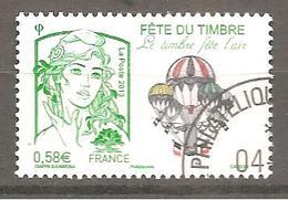 France 2013  Y T N °4809 Oblitéré Cachet Rond - Used Stamps