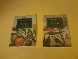 2x Cartes Calendrier L Erbolario - Cartes Parfumées