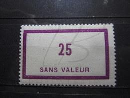 VEND BEAU TIMBRE FICTIF DE FRANCE N° F58 , XX !!! - Phantomausgaben