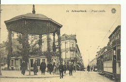 CP.Bruxelles-Schaerbeek (ex-Collection DELOOSE) - Place LIEDTS + Tram - W0115 - Schaerbeek - Schaarbeek