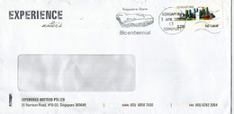 Singapore Stone.10th Century,(National Treasures Of Spore) Singapore Bicentennial 2019 On Letter From Experience Matters - Singapore (1959-...)