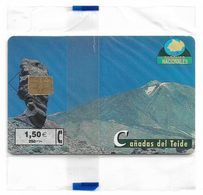 Spain - Telefonica - Parques Nacionales - Cañadas Del Teide, P-472 - 06.2001, 4.500ex, NSB - Spanien