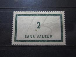 VEND BEAU TIMBRE FICTIF DE FRANCE N° F42 , XX !!! - Fictifs