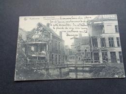 Belgique  België ( 1943 )    Audenaerde  Audenarde  Oudenaarde   Rue Entre - Ponts   Oorlog  Guerre - Oudenaarde