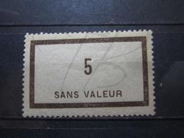 VEND BEAU TIMBRE FICTIF DE FRANCE N° F44 , XX !!! - Fictifs