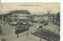 CP.Bruxelles-Schaerbeek (ex-Collection DELOOSE) - Place LIEDTS Garage Coiffeur Distillerie + Tram - W0116 - Schaerbeek - Schaarbeek