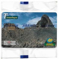 Spain - Telefonica - Parques Nacionales - Timanfaya, P-485 - 09.2001, 4.500ex, NSB - España