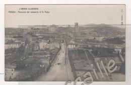 CP L'UMBRIA ILLUSTRATA - PERUGIA - PANORAMA DAL CAMPANILE DI S. PIETRO - STAB. G. TILLI N° 228 - Perugia