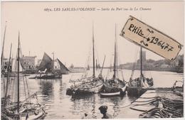 85 Les Sables D'Olonne - Cpa / Sortie Du Port Vue De La Chaume. - Sables D'Olonne