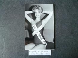 Brigitte Konjovic  Miss France 1978  Photo - Photos