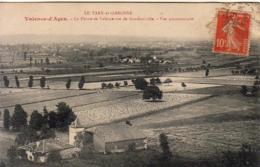 D82  VALENCE D'AGEN  La Plaine De Valence Vue De Goudourville - Valence