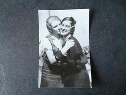 Mireille BERTIN  Miss France 1933 /Charlotte HARTMAN  Miss Allemagne 1933  Photo - Photos