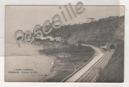 CP L'UMBRIA ILLUSTRATA - PASSIGNANO - PANORAMA DAL COLLE - STAB. G. TILLI N° 437 - Italia