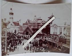 1900 PARIS Exposition Universelle Pavillon Grèce Chine Grande Roue La Scierie Eaux Et Forêts Et Vues Générales 5 Photos - Luoghi