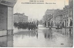 12/18      94    Crue De La Seine  Villeneuve St-georges    Place De La Gare  (animations) - Villeneuve Saint Georges