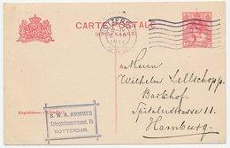 Briefkaart G. 82 I Rotterdam - Hamburg Duitsland 1913 - Ganzsachen