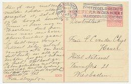 Briefkaart G. 224 Den Haag - Wiesbaden Duitsland 1930 - Ganzsachen