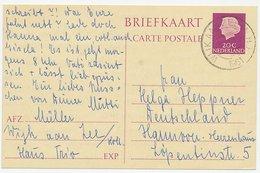 Briefkaart G. 327 Wijk Aan Zee - Hannover Duitsland 1961 - Postal Stationery