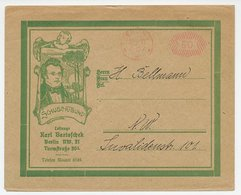 Illustrated Meter Cover Germany 1922 Schubert - Composer - Schubert Society - Musik