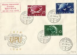 SUIZA Nº 474/6 En Sobre. - Covers & Documents