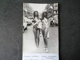 Monique Uldaric Miss France 1976 / Riita Vaisanen Miss Europe 1976  Photo - Photos