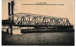 Nord SOUS LE BOIS Le Nouveau Pont Des Ets De Senelle-Maubeuge Sur La Sambre - France