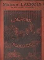 """Toulouse - Catalogue """"Maison Lacroix"""" 1939 / Artifices Pyrotechnie Guirlandes Drapeaux..."""" - 1900 – 1949"""