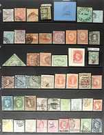 BRITISH COMMONWEALTH FORGERIES  An Interesting Collection Of Chiefly Old Forgeries Of Mostly 19th Century Issues Present - Timbres