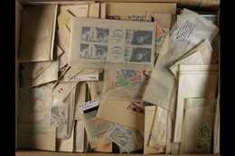 SHOE BOX SUPER SORTER  1850's To Modern Day, Mint, Used & Never Hinged Mint Ranges In Glassine, On Stock Cards & In Comm - Timbres