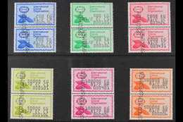 INTERNATIONAL COCOA ORGANIZATION REVENUE STAMPS  Six Different Denominations Between 200kg And 500,000kg, Each In Vertic - Timbres