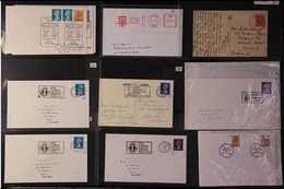 GOLF  Early 1900's To Modern Thematic Group Of Covers And Cards Featuring Chiefly British Slogan And Special Cancels For - Timbres