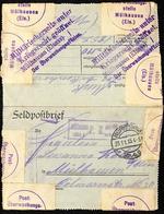 Feldpoststation Nr.46 - 23.11.15 Cachet Censure Militärischerseits Unter Kriegsrecht Geöffnet Mülhausen (Elsass) - Guerre De 1914-18