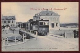 Courseulles-sur-Mer C . F . C . Chemins De Fer Du Calvados Train Voie étroite Voies Ferrées  * Calvados 14470 * Wagon - Courseulles-sur-Mer