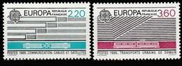 FRANCE    Europa 1988    N° Y&T  2531 Et 2532  ** - France