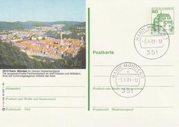 """Bundesrepublik Deutschland / 1980 / Bildpostkarte """"HANN. MUENDEN"""" Mit Bildgleichem Stempel (3639) - BRD"""