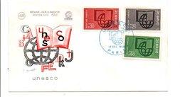 FDC 1966 UNESCO - 1960-1969